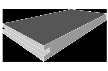 Kompaktplatten-Aussen-Konfektionierung-Nut