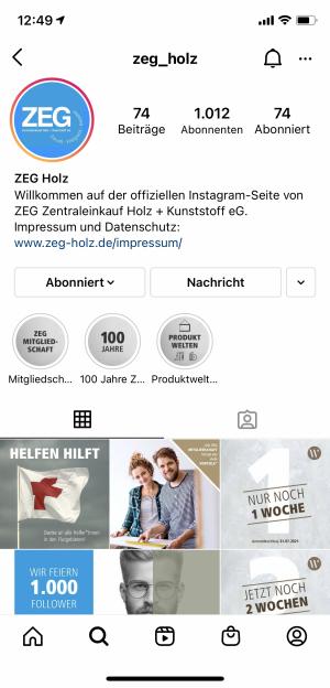 ZEG-Instagram-Account